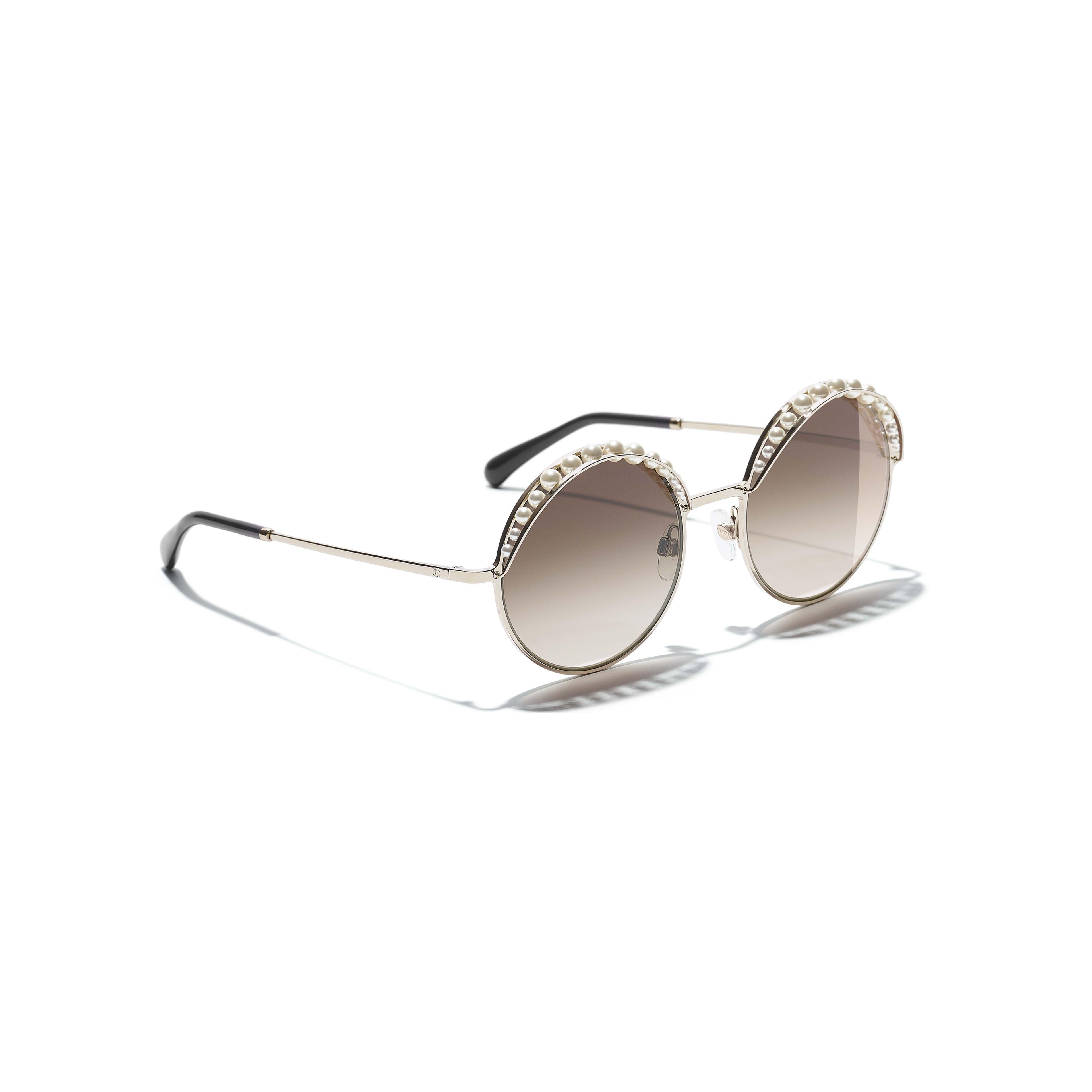 98ec164525717 CHANEL Square Sunglasses 56 Black   Black Sunglasses