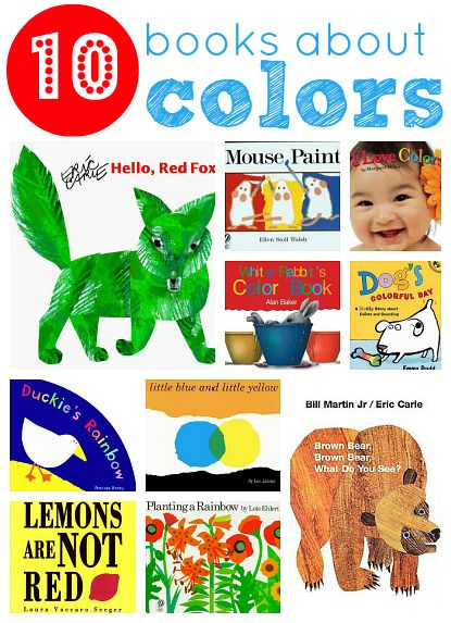 10 Picture Books About Colors Toddler Books Coloring Books Preschool Colors