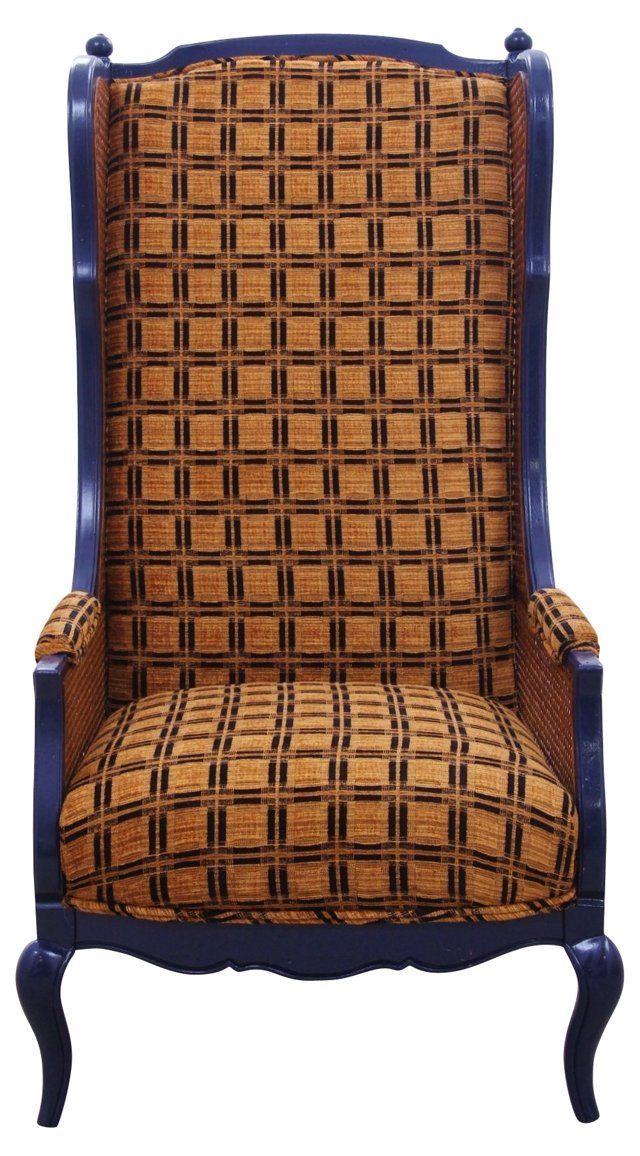 Merveilleux Thomasville Basketweave Wingback Chair