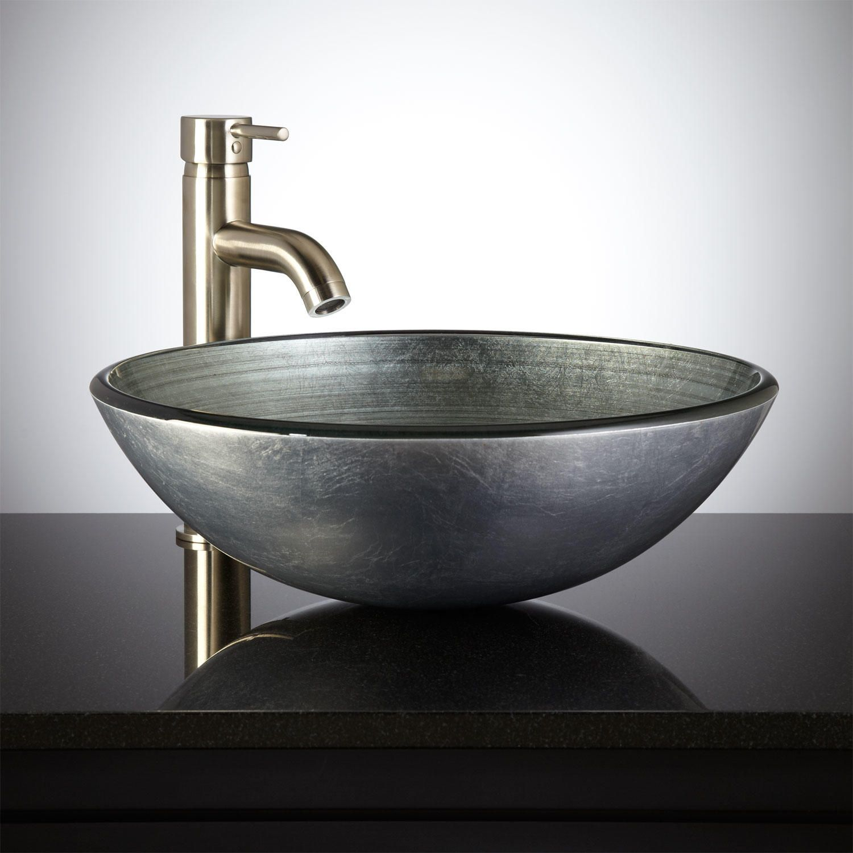 Pagosa Waterfall Vessel Faucet Bathroom Sink Faucets Bathroom