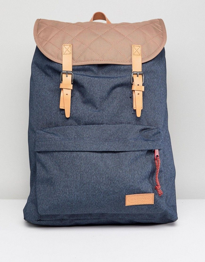 Quilted Eastpak eastpak Blue bags Backpack London 4Ywpq5