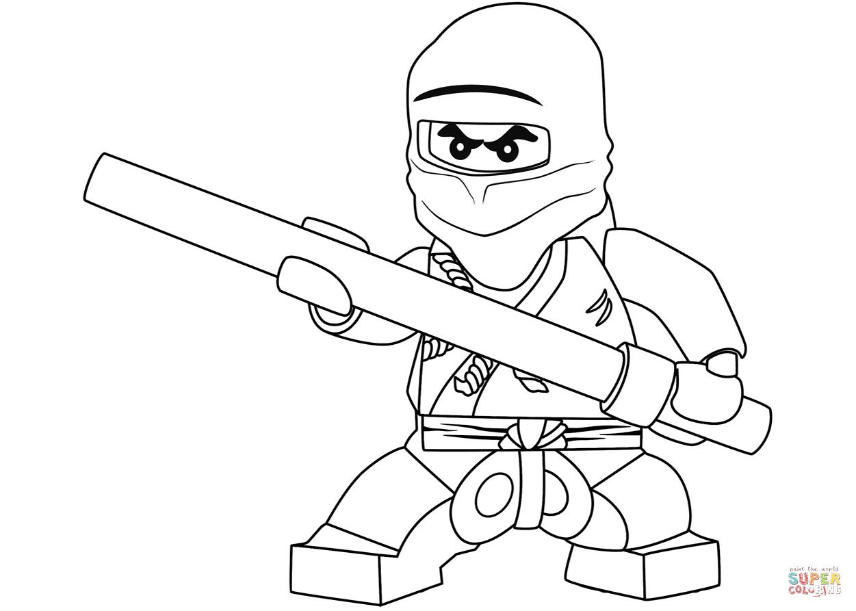 Lego Ninjago Cole The Black Ninja Super Coloring Ninjago