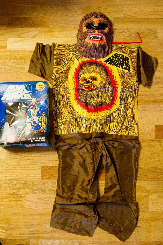 VINYL SALE Star Wars Halloween Costume and Mask, Halloween
