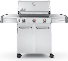Weber Genesis 6550001 S 310 Stainless Steel 637 Square Inch 38 000 Btu Liquid Propane Gas Grill Natural Gas Grill Propane Gas Grill Best Gas Grills