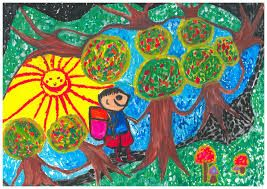 art contest for kids - Google Search | Easy painting for ...