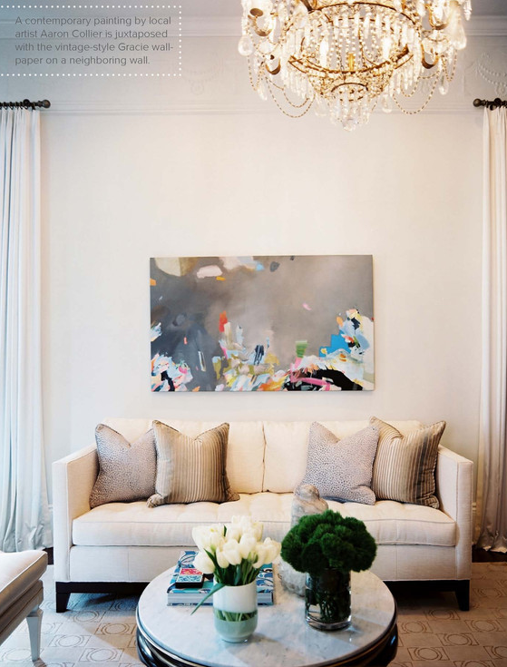 Fresh Decorating White Walls without Painting