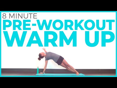 10 minute pre workout yoga warm up  sarah beth yoga