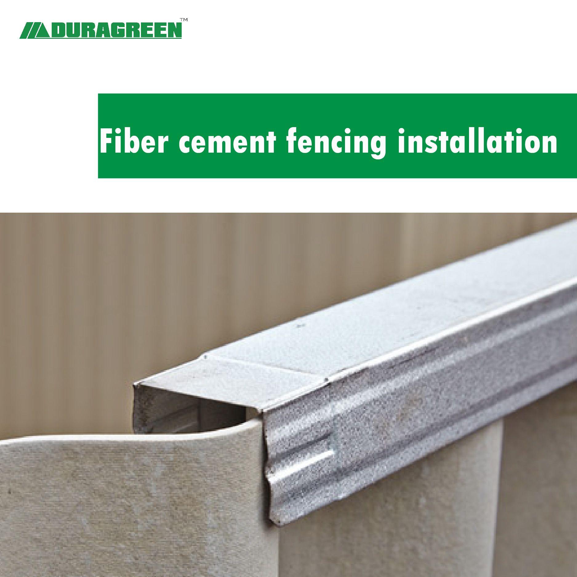 Fiber Cement Fencing Installation In 2020 Fiber Cement Installation Corrugated Roofing