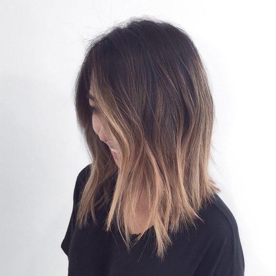 Mechas californianas e ombr hair muitas fotos para for Long bob ombre