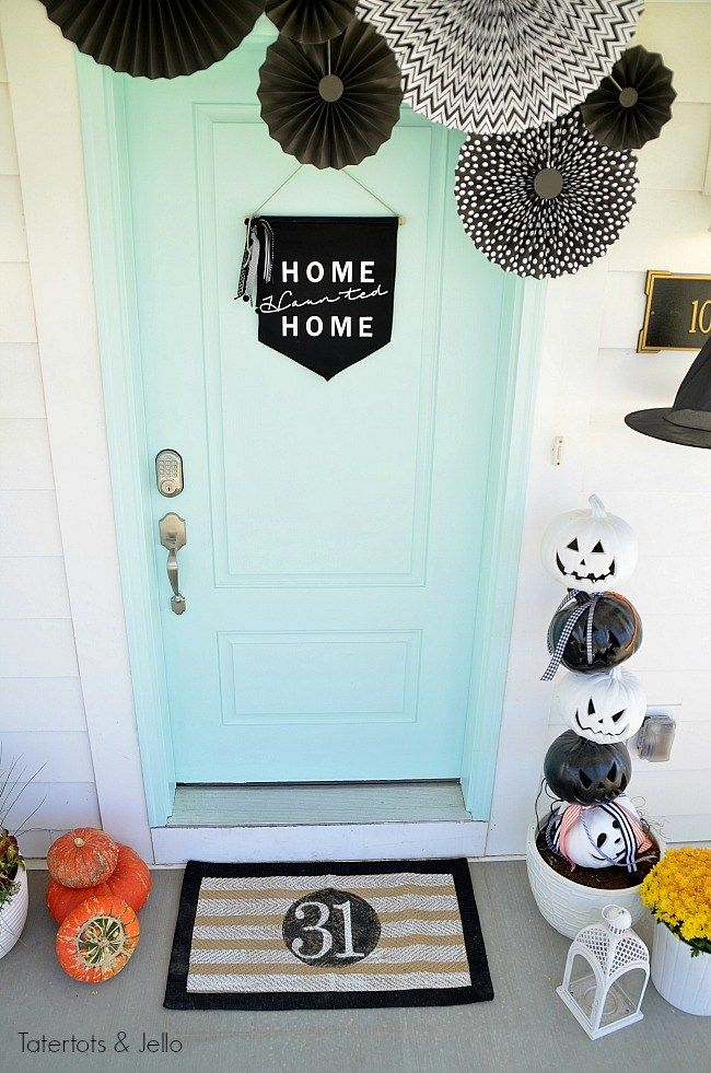 Witching Hour Halloween Porch Ideas Fall ideas Pinterest
