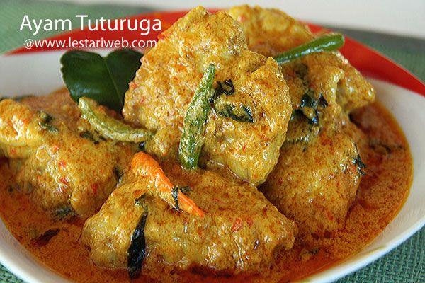 Kumpulan Resep Asli Indonesia Ayam Tuturuga Resep Resep Makanan Resep Masakan Indonesia Ayam