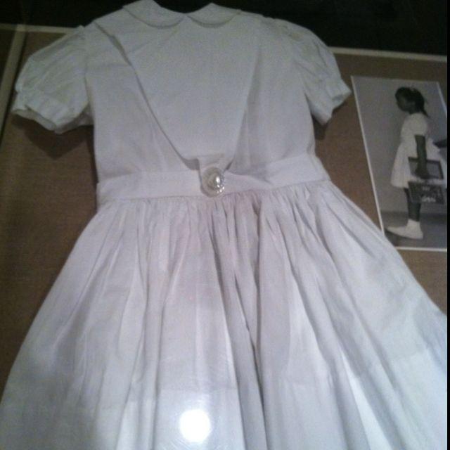 The Dress Ruby Bridges Wore To School Check It Black
