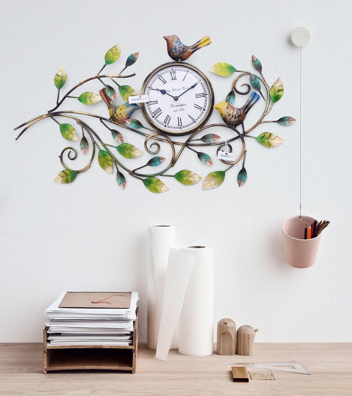 Iron Handmade Decorative Wall Clock