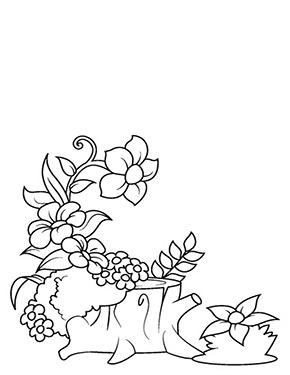 Ausmalbild Waldblumen In 2020 Malvorlagen Blumen Malvorlagen Fur Madchen Blumen Ausmalbilder