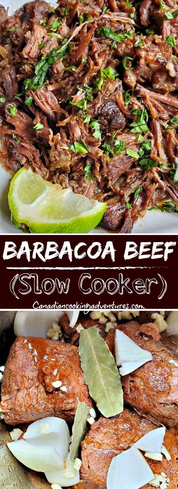 Barbacoa Beef Recipe (Slow Cooker)