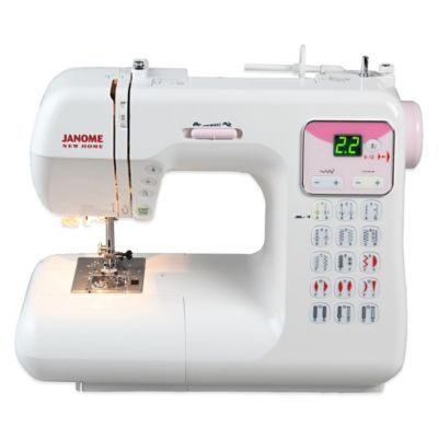 Janome Dc40P Electronic Sewing Machine White In 40 Products Impressive Compare Sewing Machine Brands