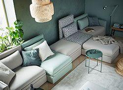 Losse elementen banken interior ikea living room
