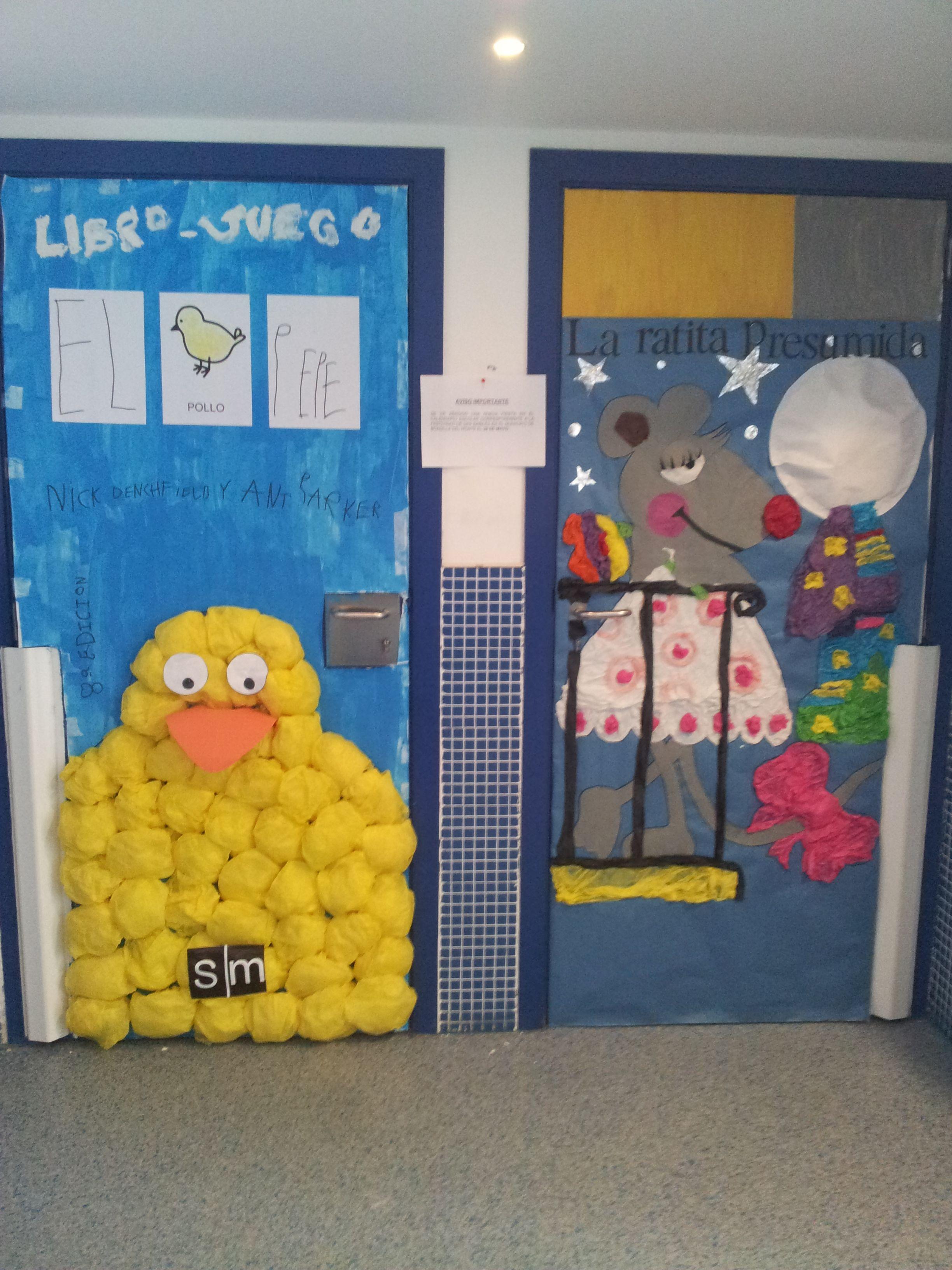Puertas decoradas bienvenida al cole buscar con google for Puertas decoradas primavera
