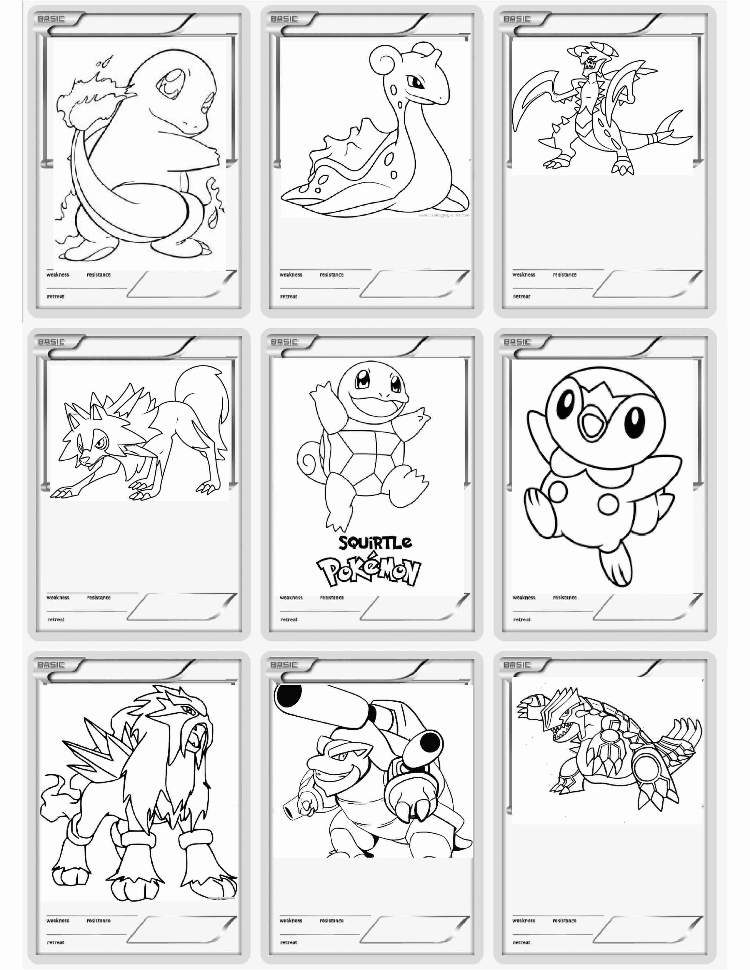 Printable Pokemon Cards Amber Fillerup Clark Printable Coloring Cards Pokemon Coloring Pages Pokemon Coloring Pages Free Printable
