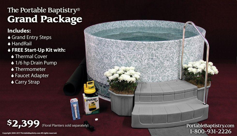 Baptistry Prices Portable Baptistry Storefront Baptism