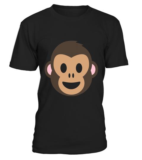 Emojitees Monkey Face Emoji T Shirt