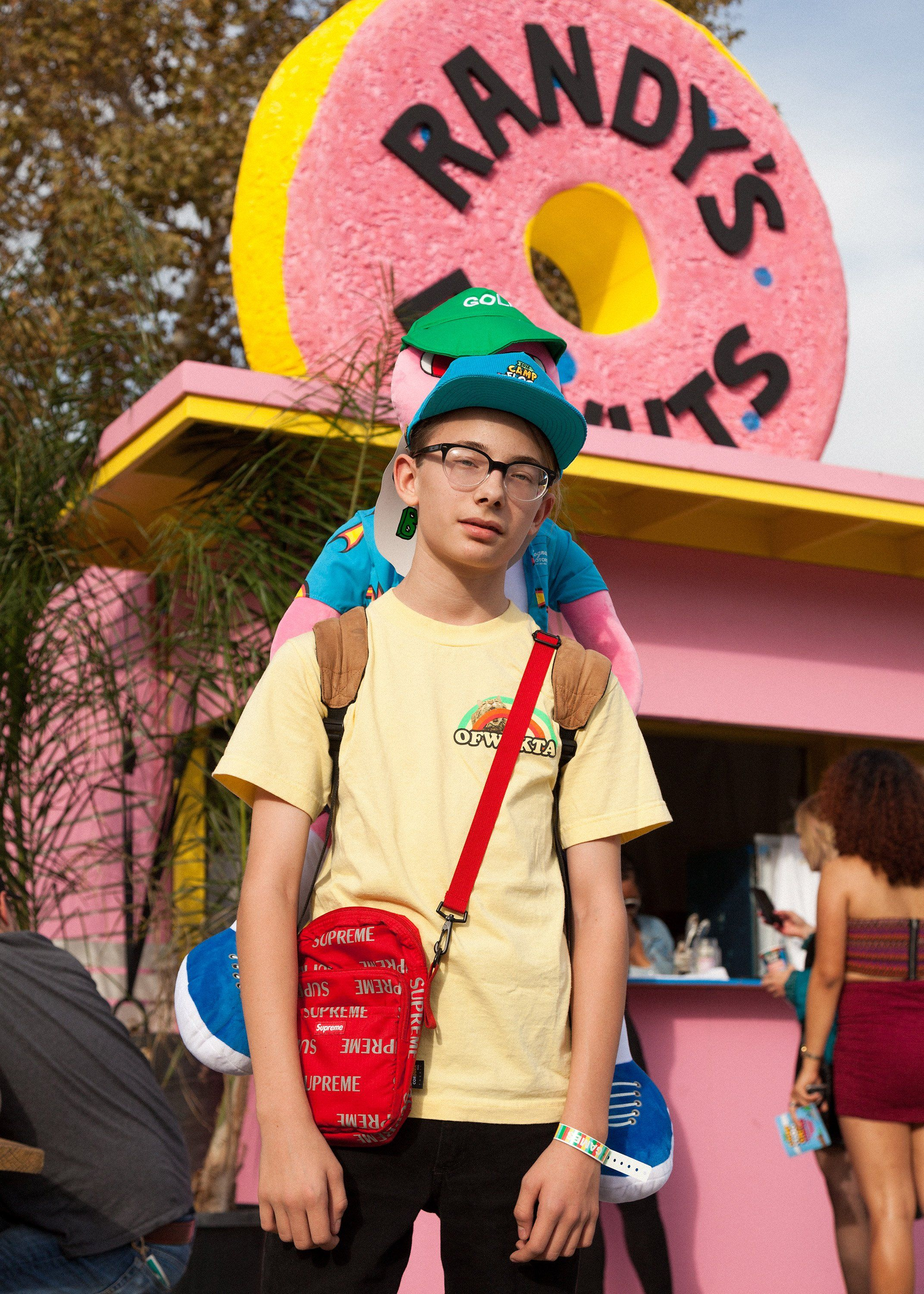 Street Style At Tyler The Creator S Camp Flog Gnaw Carnival Camp Flog Gnaw Style Festival Fashion