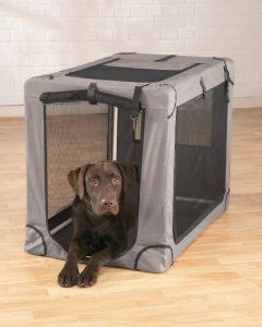 Amazon Com Fabric Travel Kennel Pet Supplies Pet Kennels Pet Crate