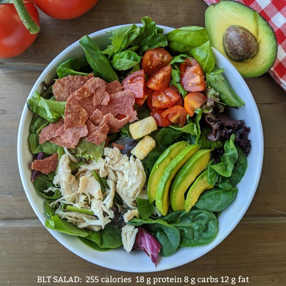 5 Minute, BLT Chicken Salad