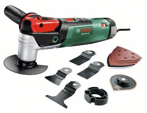 Bosch DIY Multifunktionswerkzeug PMF 250 CES Set, Säge