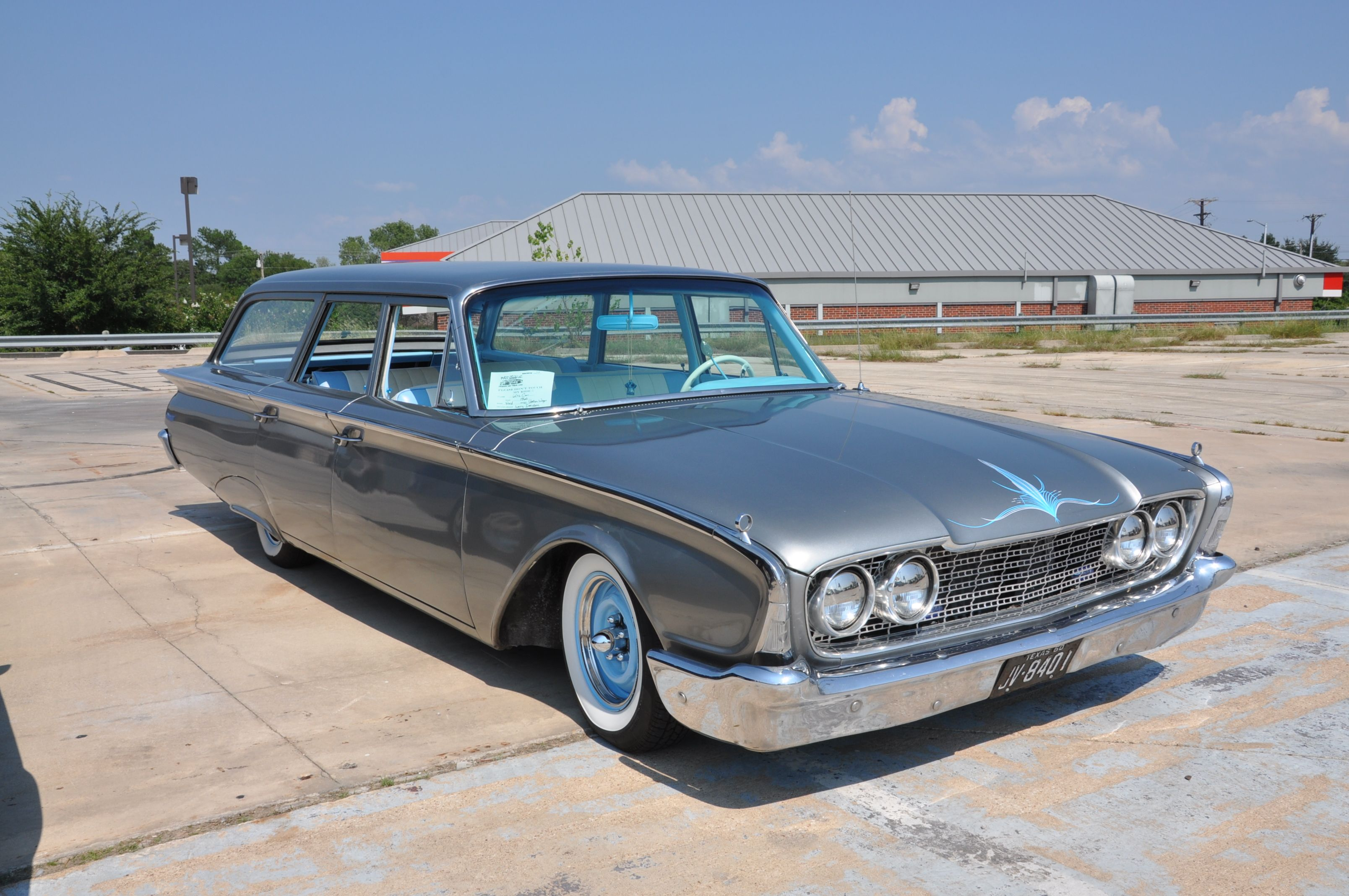 1960 Ford Country Squire Station Wagon Maintenance/restoration of ...
