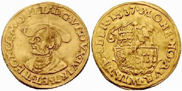 From 1520 1534 Charles V Holy Roman Emperor On The Coin