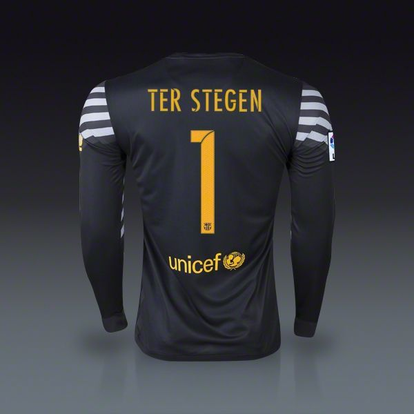 897d543c7 Nike Marc-Andre Ter Stegen Barcelona Goalkeeper Jersey 15 16 ...