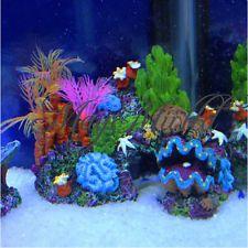 Pink Artificial Vivid Sucker for Aquarium Ornament Fish Tank Coral Decoration