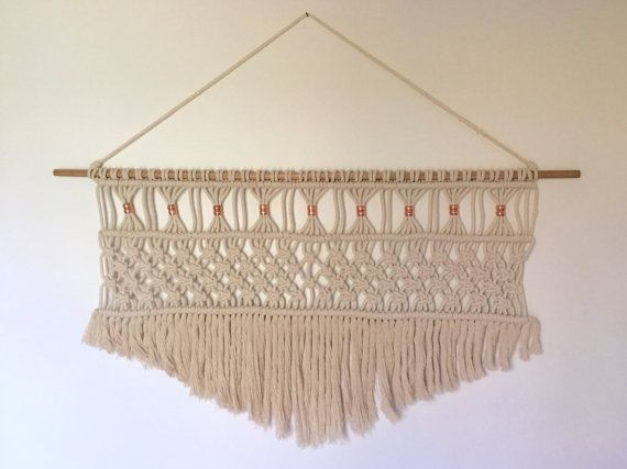 Macrame Wall Hanging by CordAndCo on Etsy