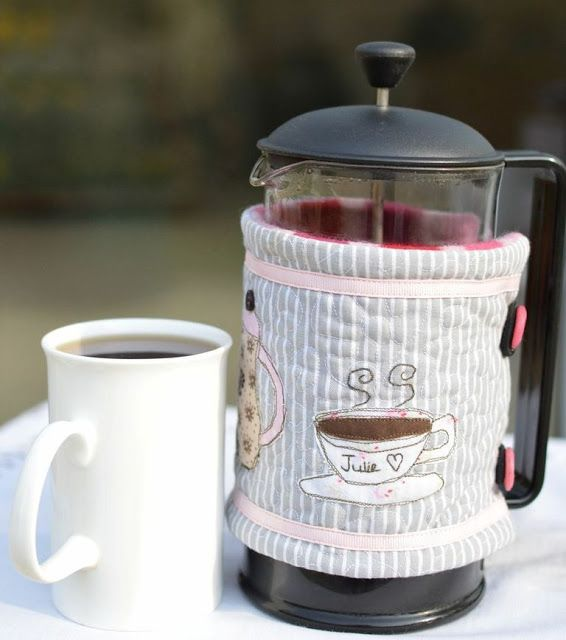 SewforSoul ~ Personalised French Press Coffee Cosy with free style ...