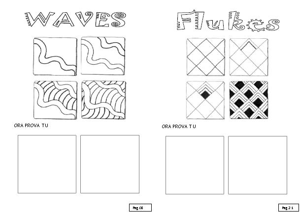 Spiegare Zentangle Alla Scuola Primaria Zentangle Doodling