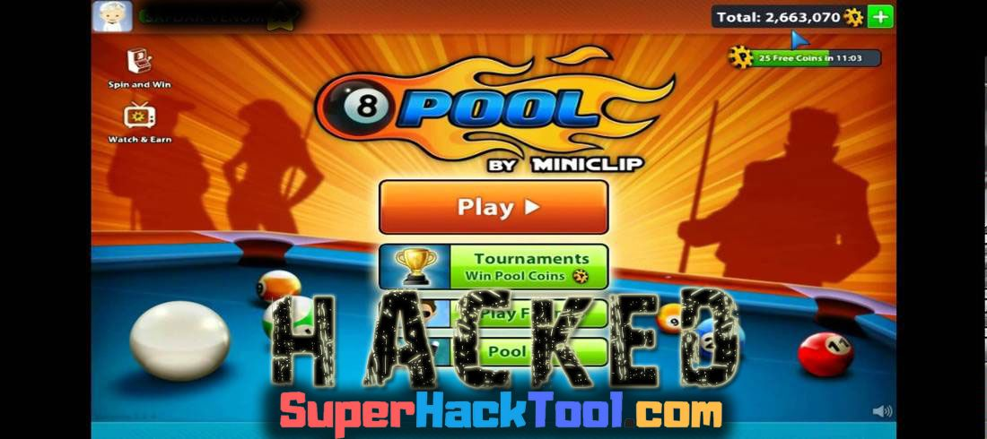 Hackear 8 Ball Pool Gratis