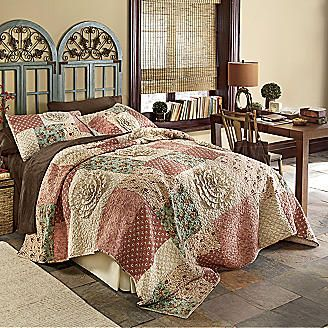 Quilt Paulie From Seventh Avenue Bedspreads Rustic Quilted Sham Master Bedroom Makeover