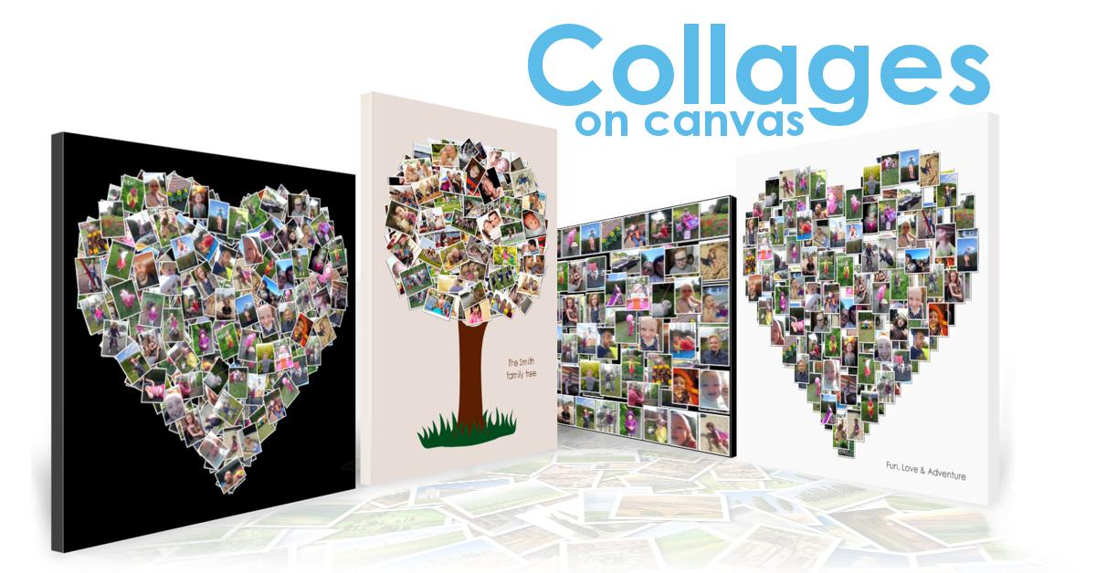 Canvas Print Collage Ideas Photo Smile Prints