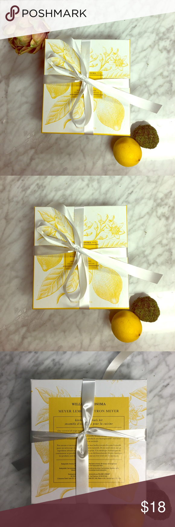 Williams Sonoma Kitchen Essentials Gift Set This Meyer Lemon