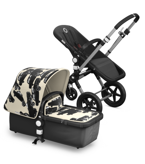 bugaboo cameleon³ with black base fabric & Andy Warhol car