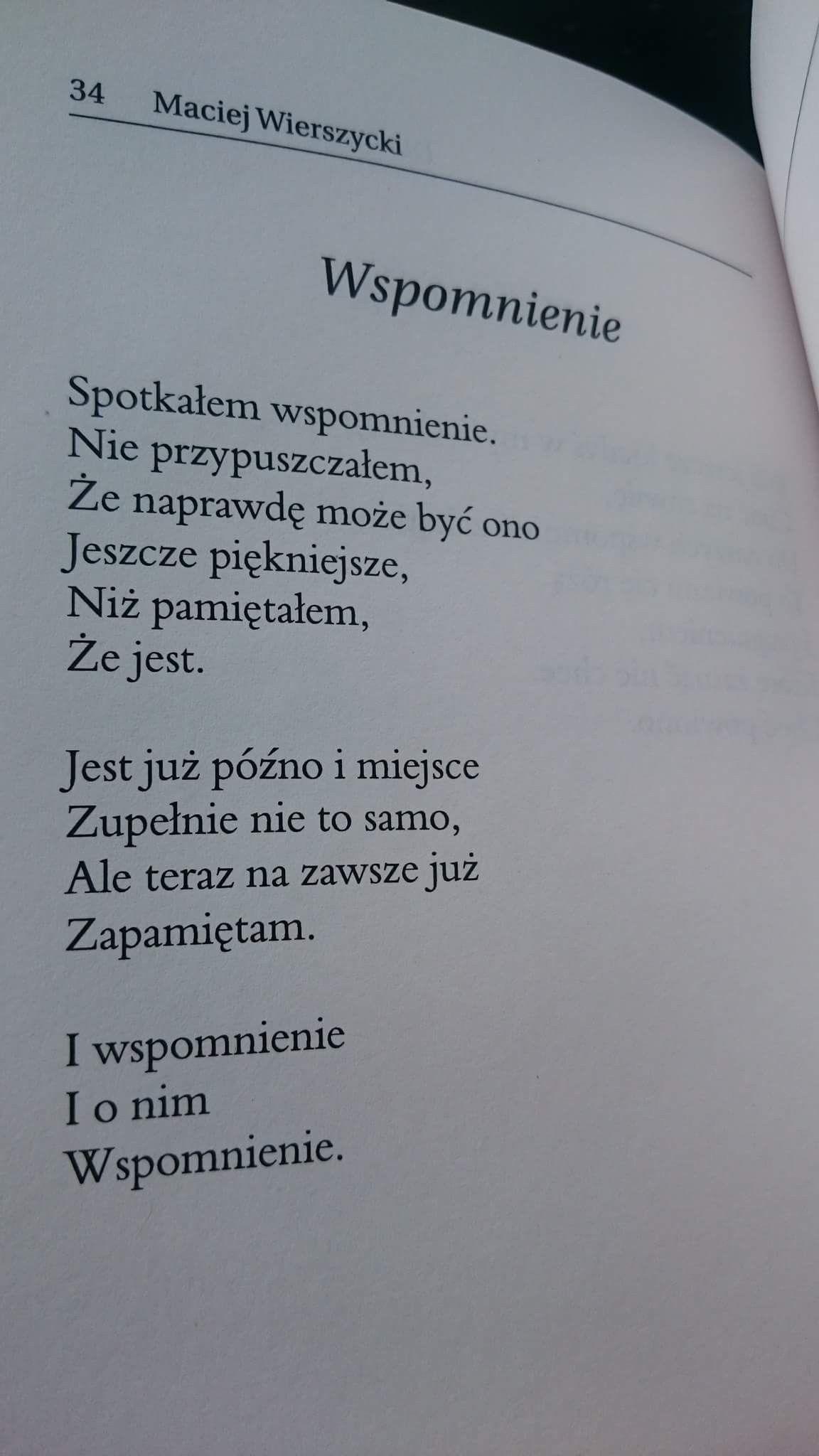 Maciej Wierszycki Wiersze Cytaty Miłosne I Poezja