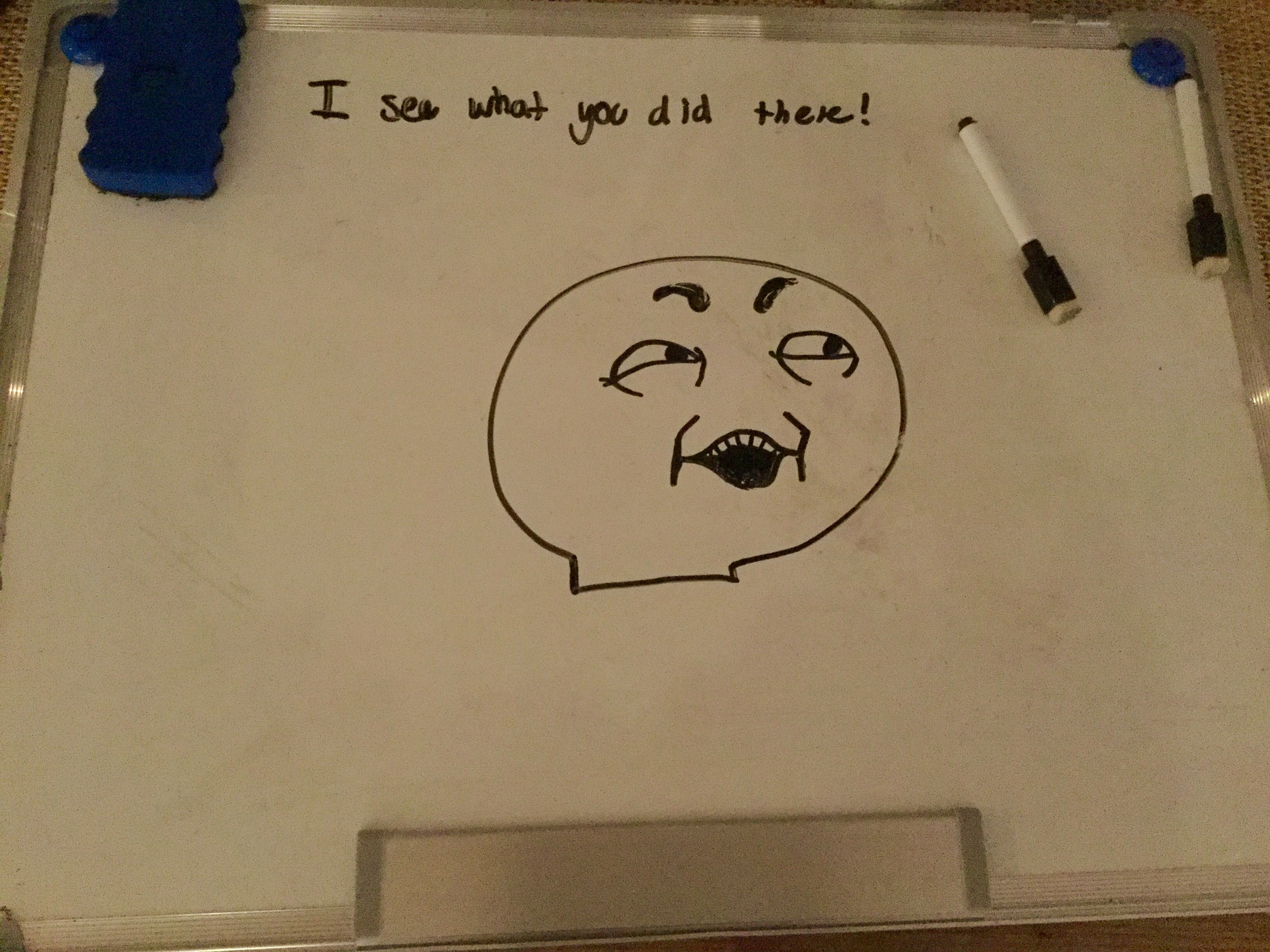 I See What You Did There Meme Home Decor Decals Decor Drawings