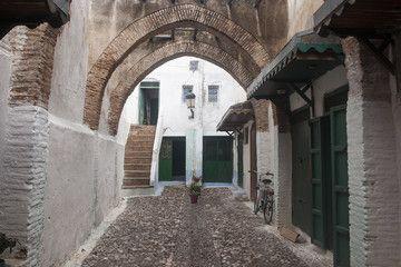Medina de Tetuán (antigua Titawin) Tánger-Tetuán Marruecos.: