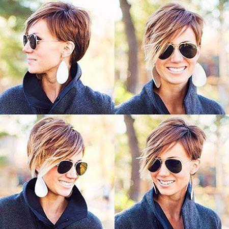 30 New Trendy Short Haircuts Short Hair Styles Longer Pixie Haircut Hair Styles
