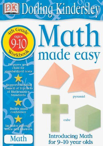 Math Made Easy: Fourth Grade Workbook (Math Made Easy) by DK ...