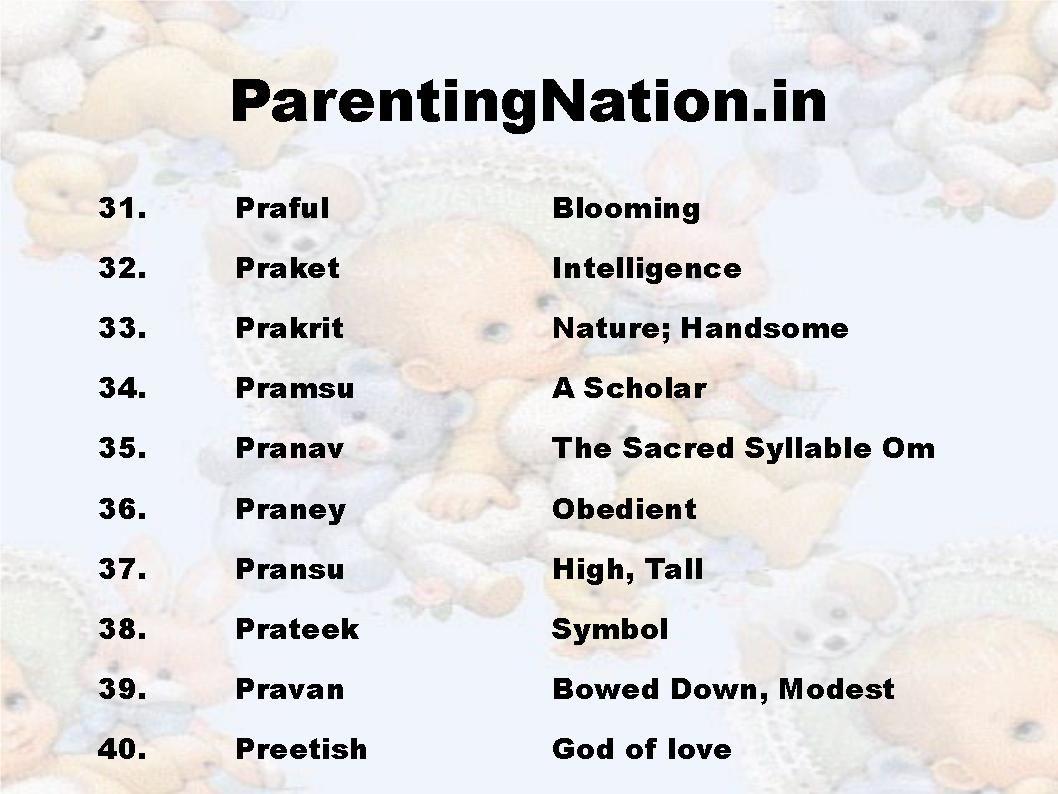 Names indian rashi rashi baby