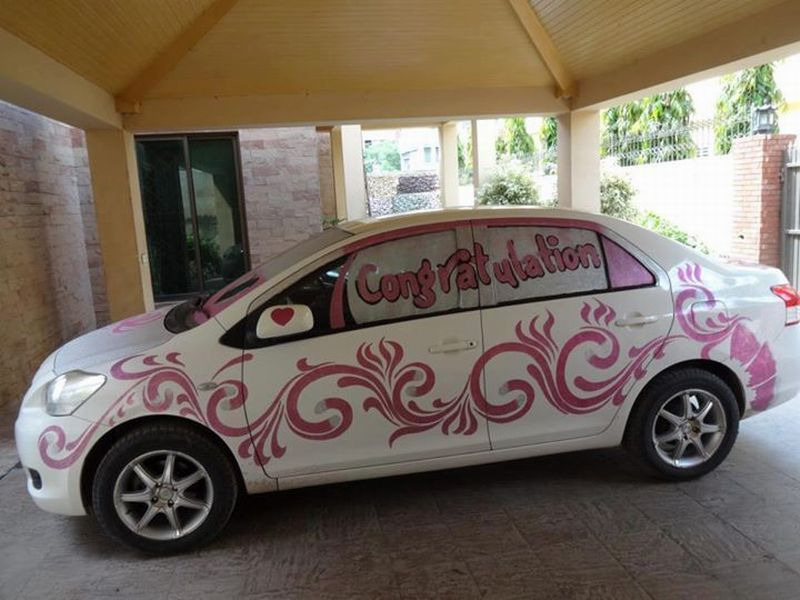 Pakistani wedding cars decoration images galleries with a bite - Cool door cars decoration ...