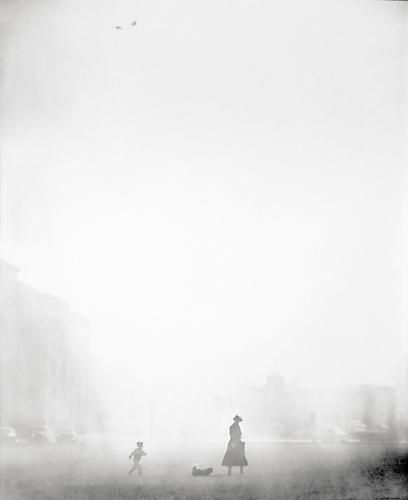 Fred Lyon 'A Walk in the Fog', 1949