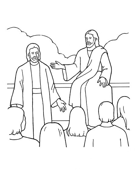 An illustration of Heavenly Father and Jesus Christ